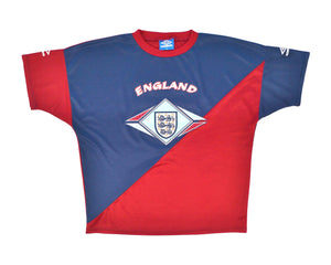 1994-96 Umbro England Training Top XL - Football Shirt Collective