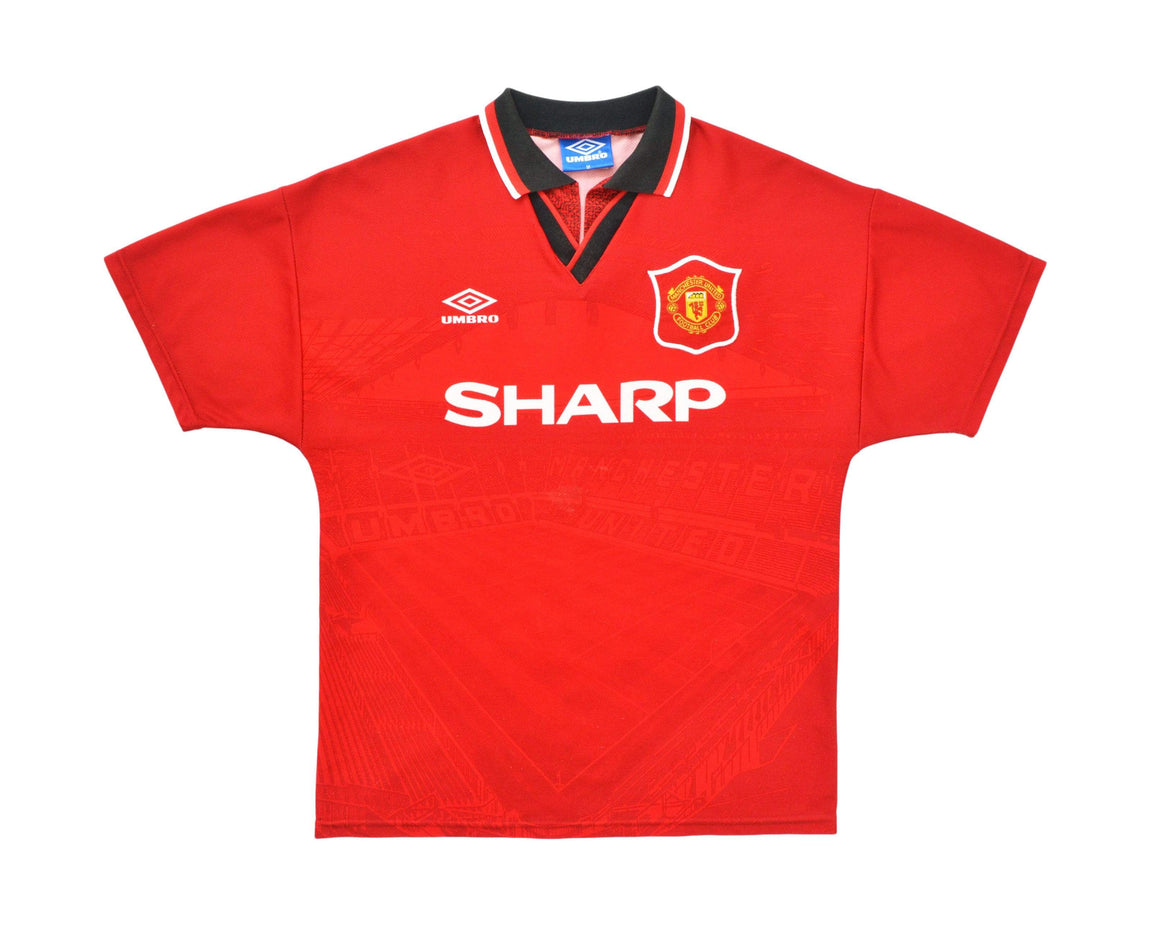 Calcio Vintage Club 1994-96 Umbro Manchester United Home Shirt M