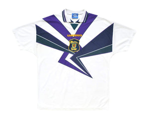 1994-96 Umbro Scotland Away Shirt XL - Football Shirt Collective