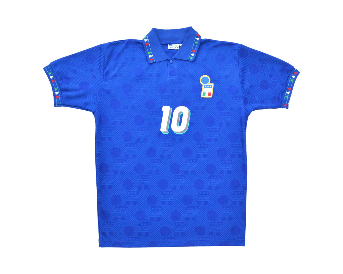 Calcio Vintage Club 1994 Diadora Italy Home Shirt 'Baggio 10' L/XL