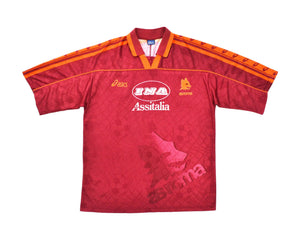 Calcio Vintage Club 1995-96 Asics Roma Home Shirt L