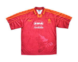 Calcio Vintage Club 1995-96 Asics Roma Home Shirt XL