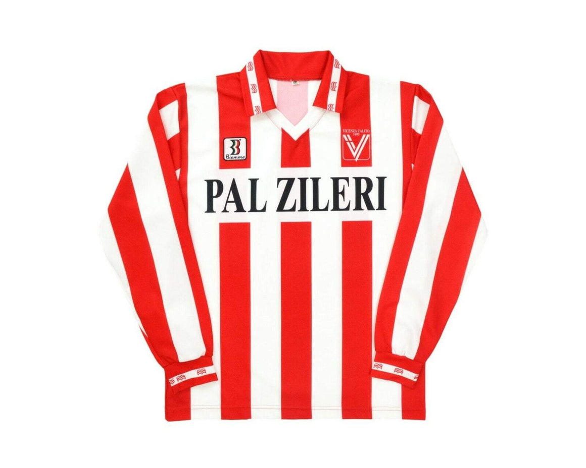 Calcio Vintage Club 1995-96 Biemme Vicenza Calcio Home Shirt S