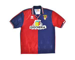 Calcio Vintage Club 1995-96 Errea Genoa Home Shirt '7' L
