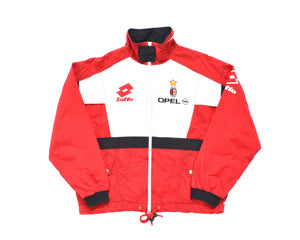 Calcio Vintage Club 1995-96 Lotto AC Milan Track Top XL