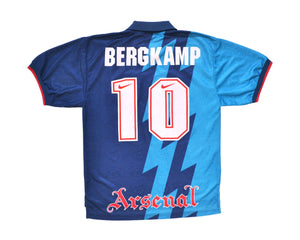Calcio Vintage Club 1995-96 Nike Arsenal Away Shirt 'Bergkamp 10' L