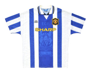 1995-96 Umbro Manchester United Third Shirt XL - Football Shirt Collective