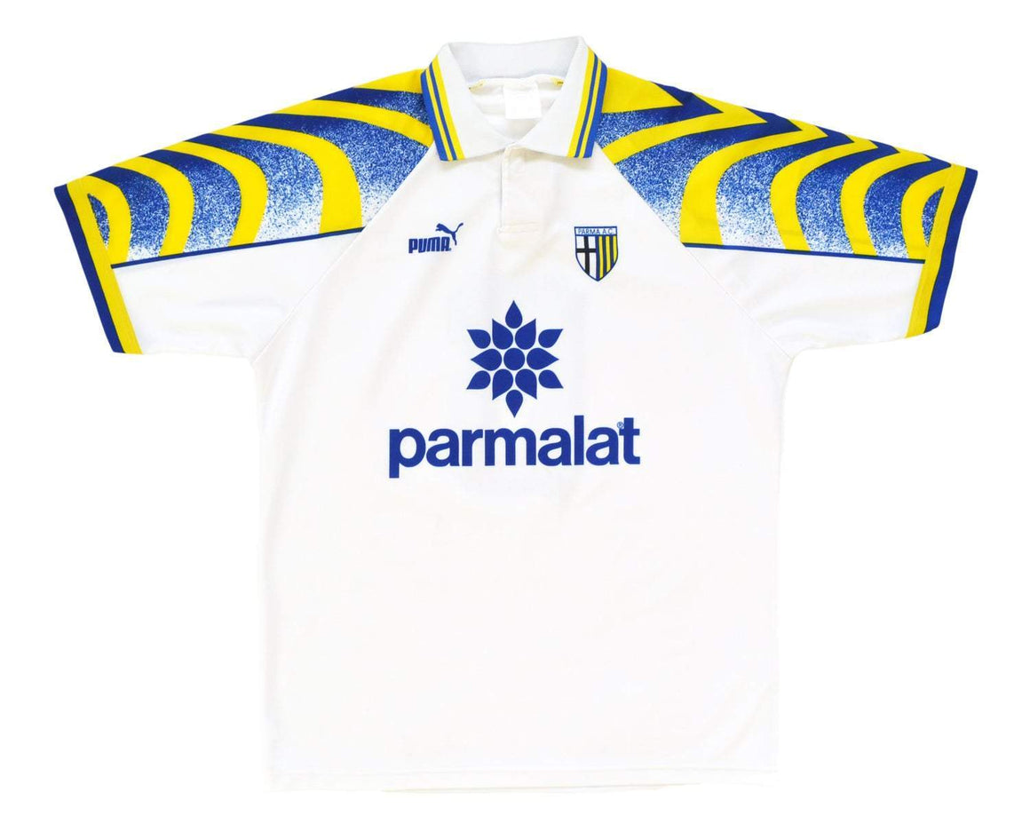 1995-97 Puma Parma Home Shirt '6' L - Football Shirt Collective