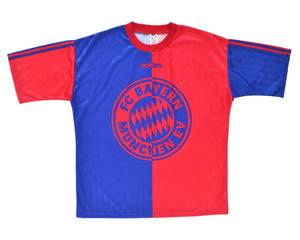 1996-97 Adidas Bayern Munich Training Shirt L - Football Shirt Collective