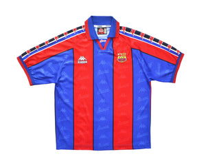 Calcio Vintage Club 1996-97 Kappa Barcelona Home Shirt L