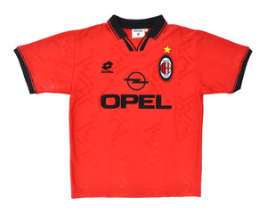 Calcio Vintage Club 1996-97 Lotto AC Milan 4th Shirt L