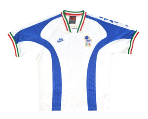 1996-97 Nike Italy Training Shirt XL - Football Shirt Collective