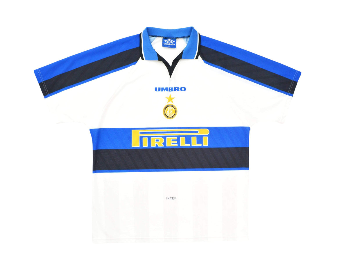 Calcio Vintage Club 1996-97 Umbro Inter Milan Away Shirt XL