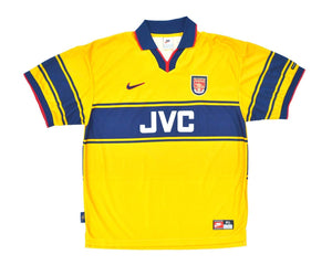 1997-99 Nike Arsenal Away Shirt XL - Football Shirt Collective