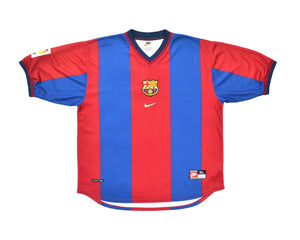 Calcio Vintage Club 1998-00 Nike Barcelona Home Shirt XL