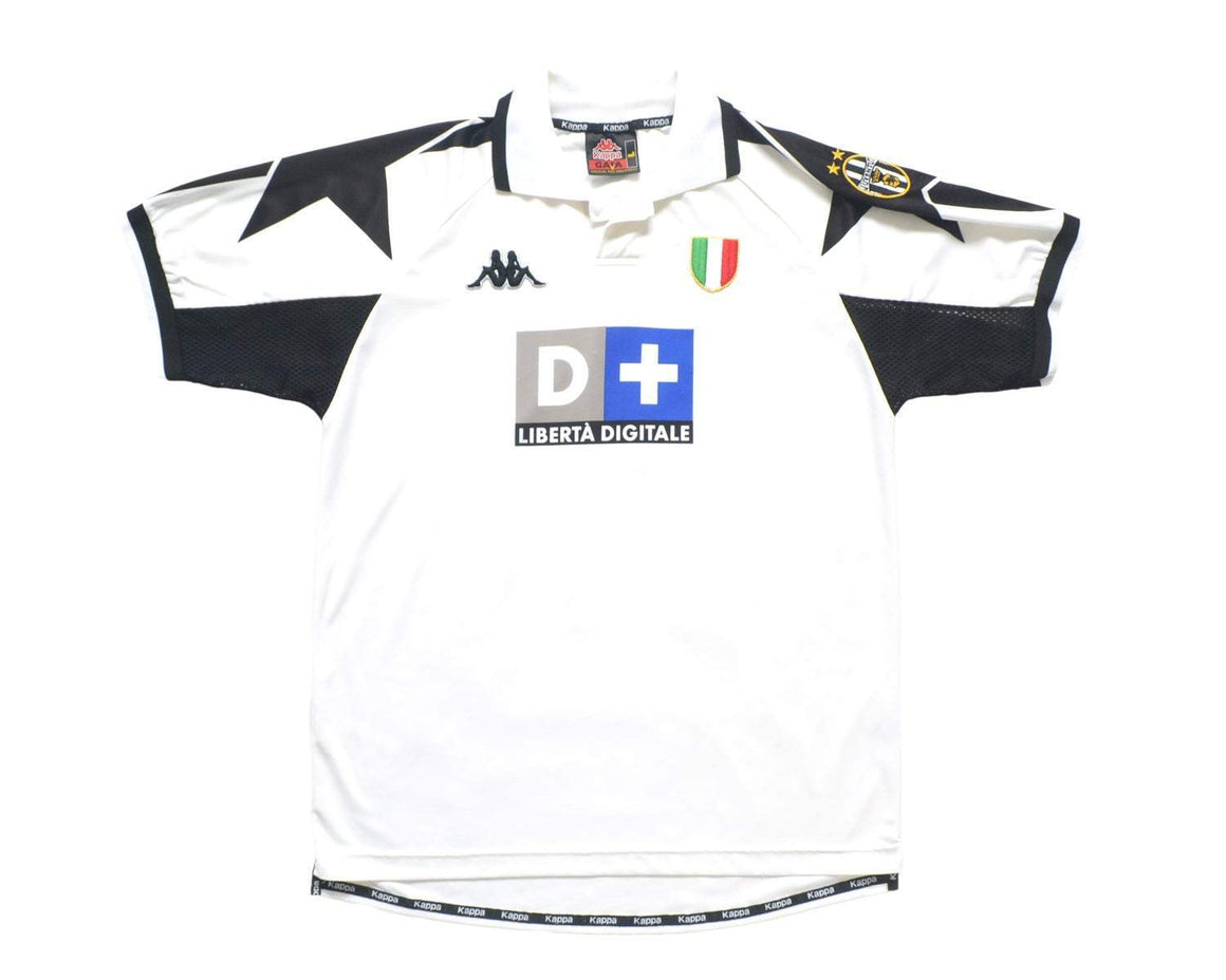 1998-99 Kappa Juventus Away Shirt L - Football Shirt Collective