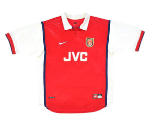 1998-99 Nike Arsenal Home Shirt XL - Football Shirt Collective