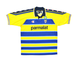 Calcio Vintage Club 1999-00 Champion Parma Home Shirt XL