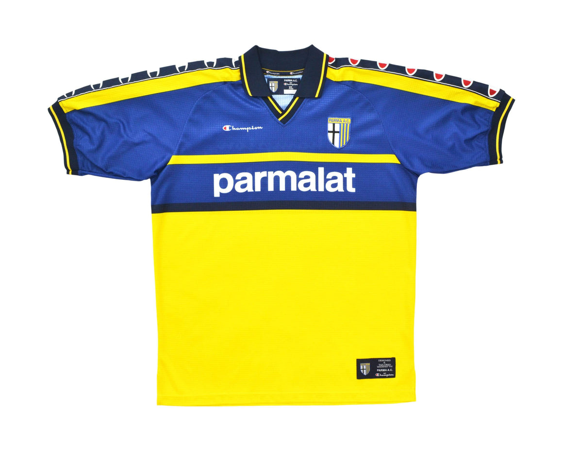 Calcio Vintage Club 1999-00 Champion Parma Training Shirt XL