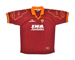 Calcio Vintage Club 1999-00 Diadora Roma Home Shirt XL
