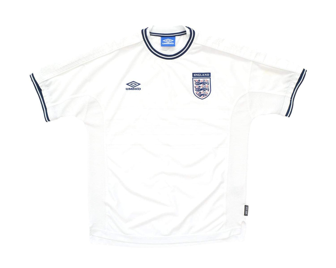 Calcio Vintage Club 1999-01 Umbro England Home Shirt L