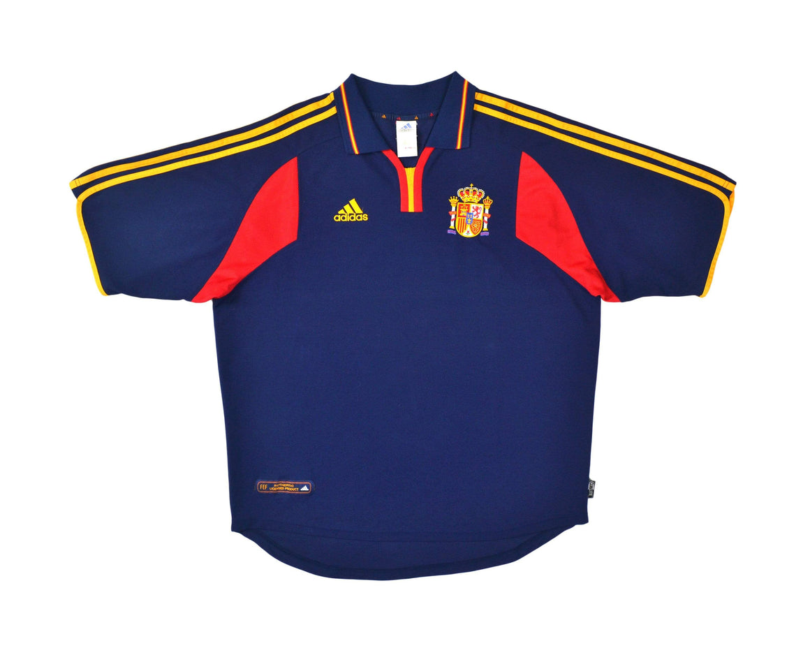 Calcio Vintage Club 2000-02 Adidas Spain Away Shirt XL