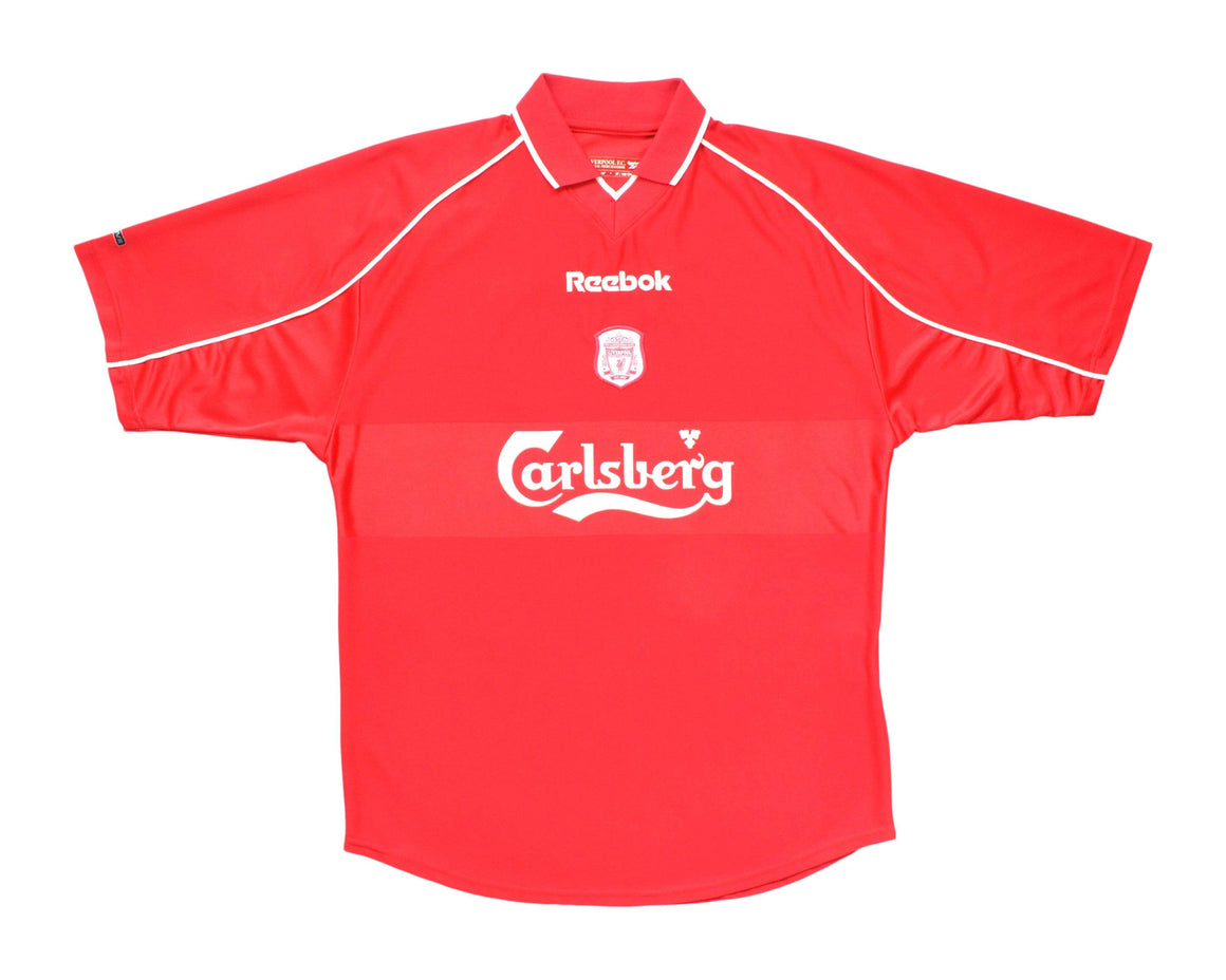 Calcio Vintage Club 2000-02 Reebok Liverpool Home Shirt 'Owen 10' M