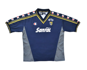 Calcio Vintage Club 2001-02 Champion Parma Coppa Italia Final Away Shirt XL