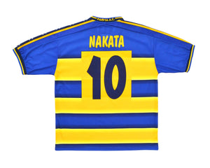 Calcio Vintage Club 2001-02 Champion Parma Home Shirt 'Nakata 10' M