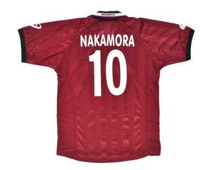 2002-03 Asics Reggina Home Shirt 'Nakamora 10' XL - Football Shirt Collective
