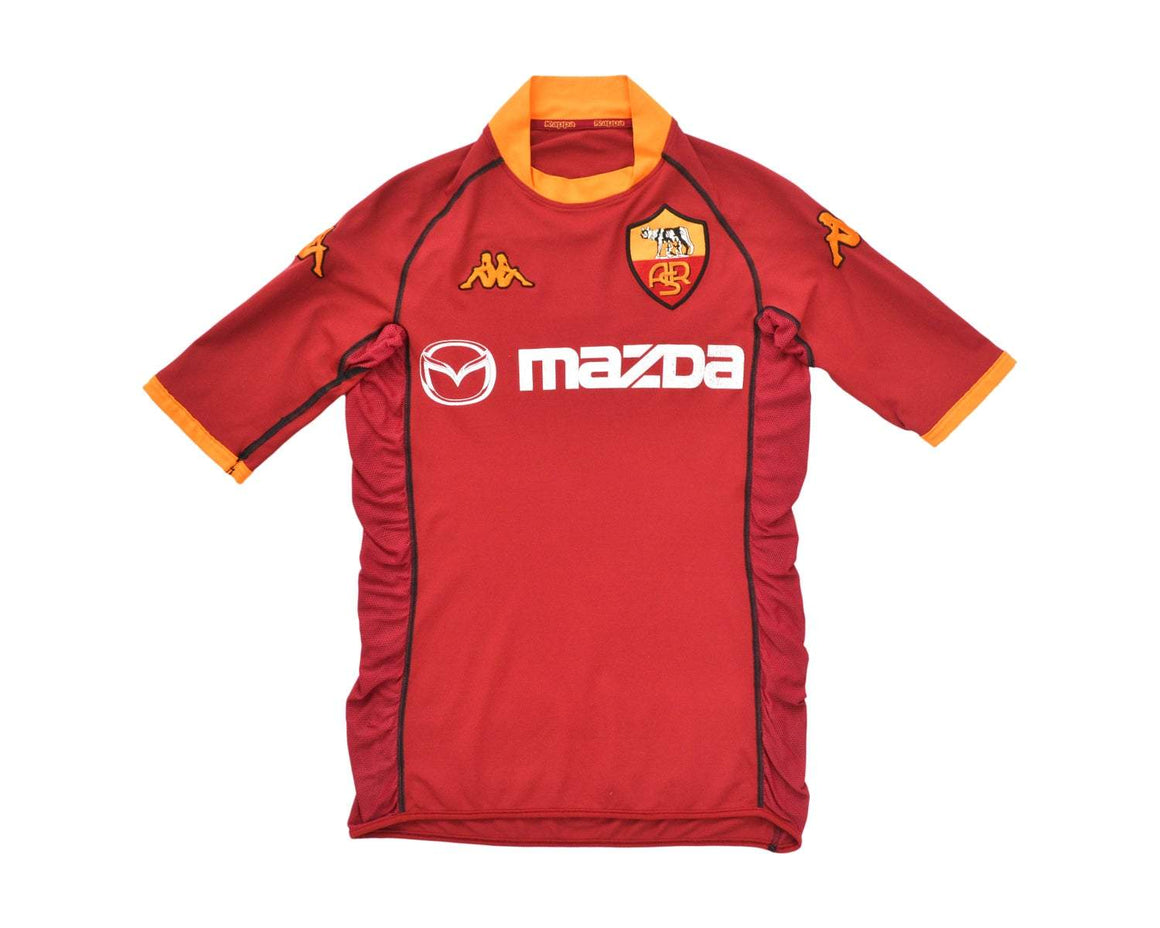 Calcio Vintage Club 2002-03 Kappa Roma Home Shirt M
