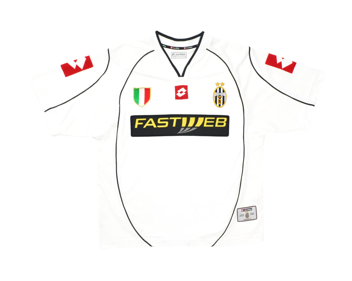 Calcio Vintage Club 2002-03 Lotto Juventus Away Shirt M