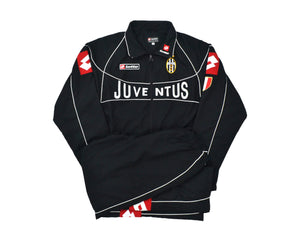 Calcio Vintage Club 2002-03 Lotto Juventus Champions League Tracksuit XL
