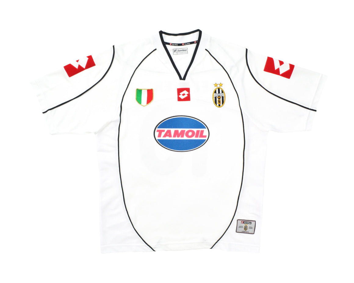 Calcio Vintage Club 2002-03 Lotto Juventus CL Away Shirt 'Del Piero 10' L