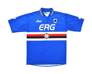 Calcio Vintage Club 2003-04 Asics Sampdoria Home Shirt L