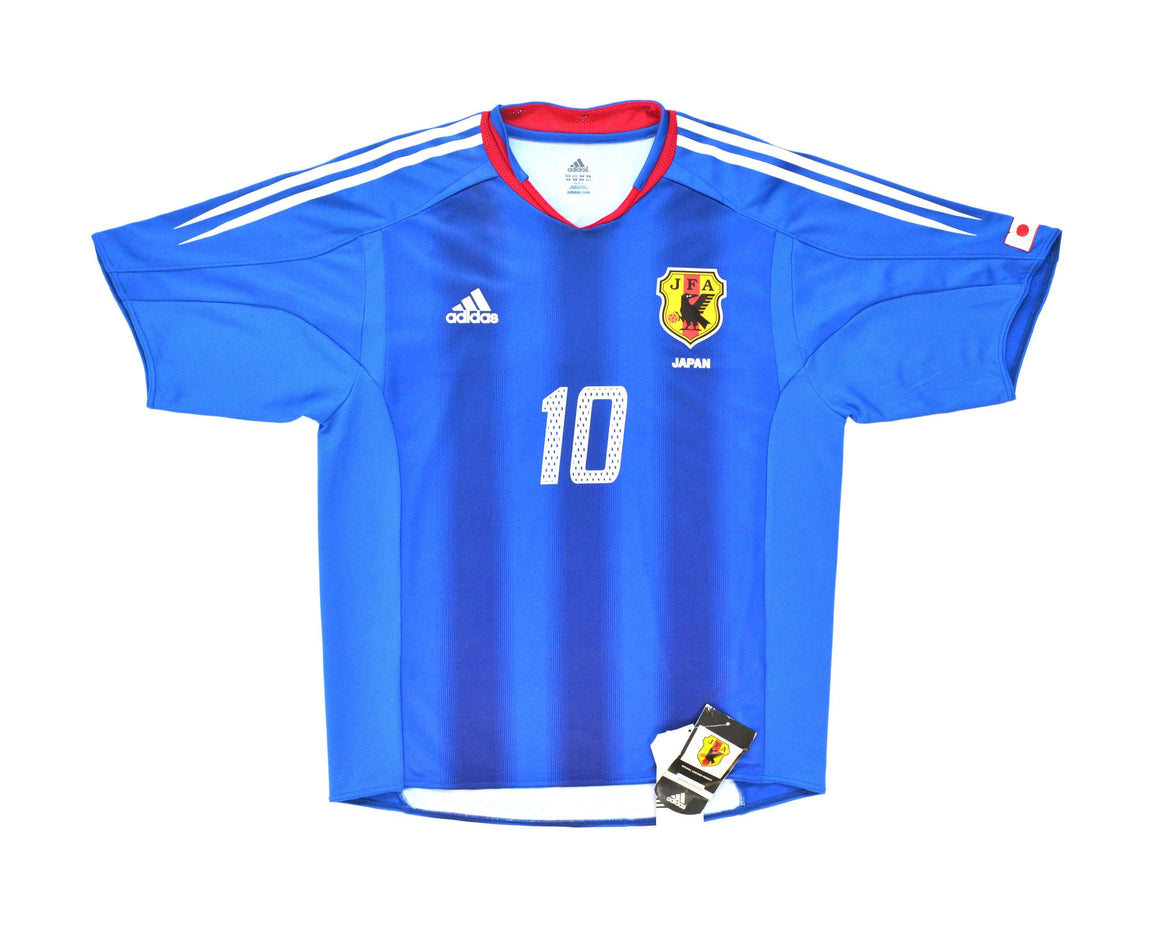 Calcio Vintage Club 2004-05 Adidas Japan Home Shirt 'Nakamura 10' L