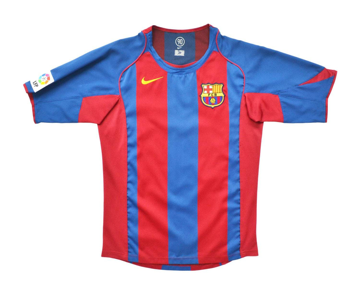 Calcio Vintage Club 2005-05 Nike Barcelona Home Shirt S