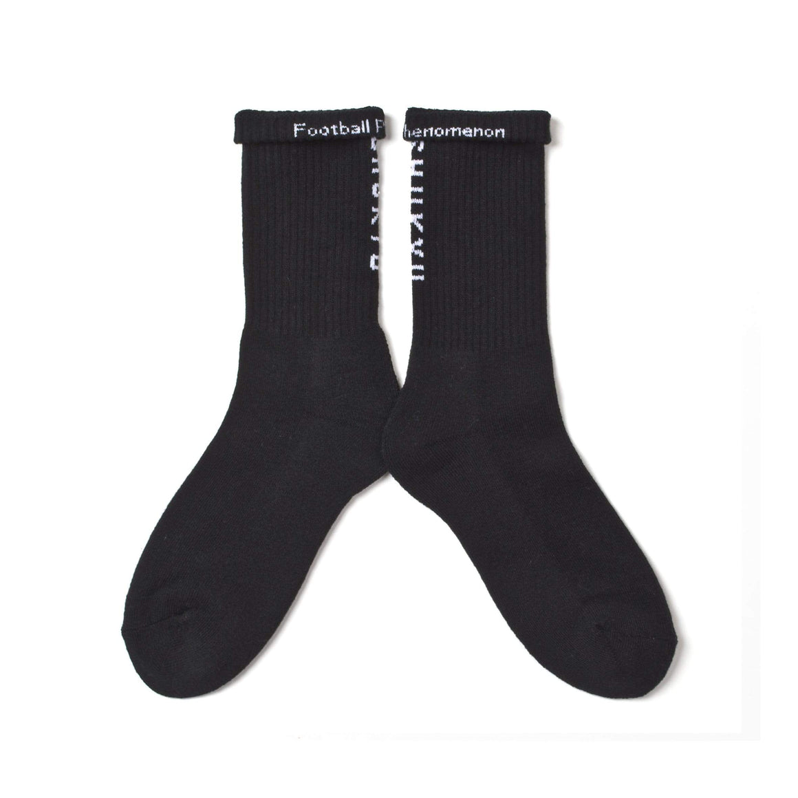 "City Boys FC SHUKYU × CITY BOYS FC ""FOOTBALL PHENOMENOM"" SOCKS [BLACK]"