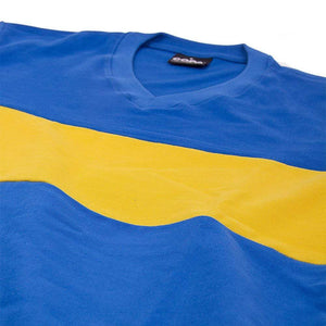 1960 Boca Juniors Retro Football Home Shirt 100% cotton - Football Shirt Collective