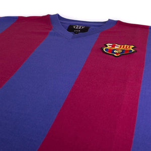 1976-77 Barcelona Retro Home Shirt Replica - Football Shirt Collective