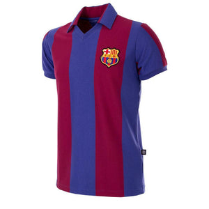 1980-81 Barcelona Retro Home Shirt Replica - Football Shirt Collective