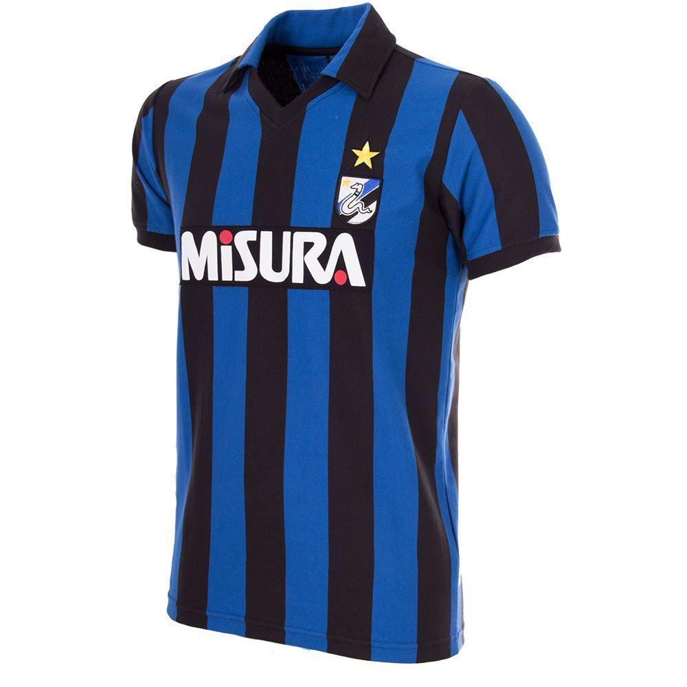 1986-87 Inter Milan Retro Home Shirt Replica - Football Shirt Collective