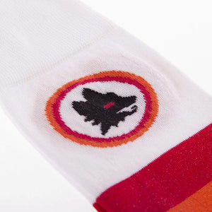 AS Roma white away socks | COPA - Football Shirt Collective