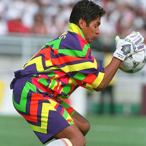 COPA Jorge Campos Mexico Bobble Hat | Pink Purple Yellow Green