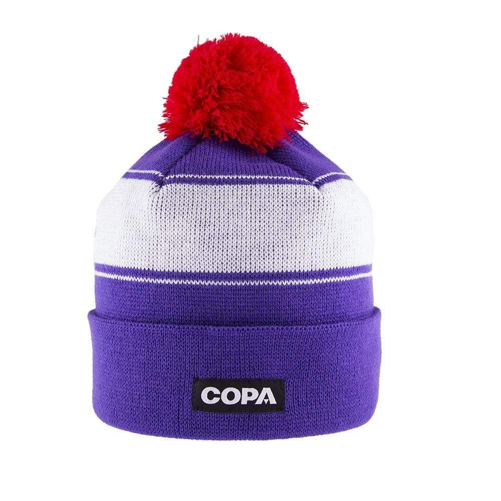 Sócrates Bobble Hat | Purple-White-Red - Football Shirt Collective