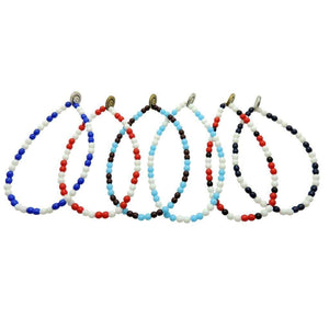 The Don - West Ham glass bead bracelet - Football Shirt Collective
