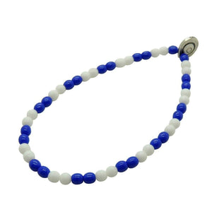 The Eddie - Chelsea glass bead bracelet - Football Shirt Collective