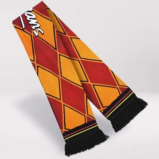 Fans Favourite Bradford City Retro Football Scarf - 1991-'93 Home