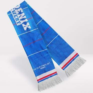 Fans Favourite Brighton Retro Football Scarf 1983-85 Home Shirt