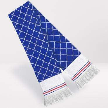 Fans Favourite Chelsea Retro Football Scarf 1987-89 Home Shirt